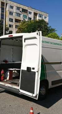 Mobile Collection Point in Ljulin and Bankya on 23 August